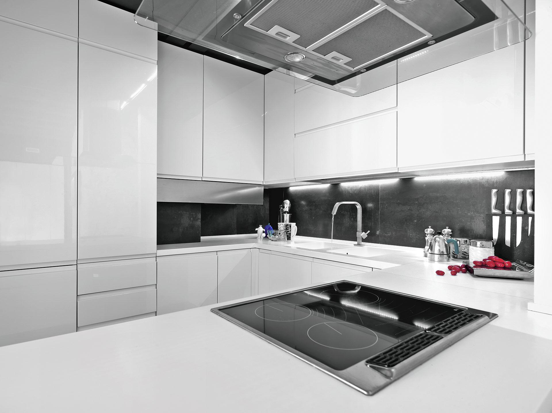 Kuchnia Biała Bez Uchwytów Kuchnie Studio R3 Zielona Góra