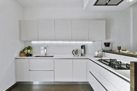 kuchnia biała matowa