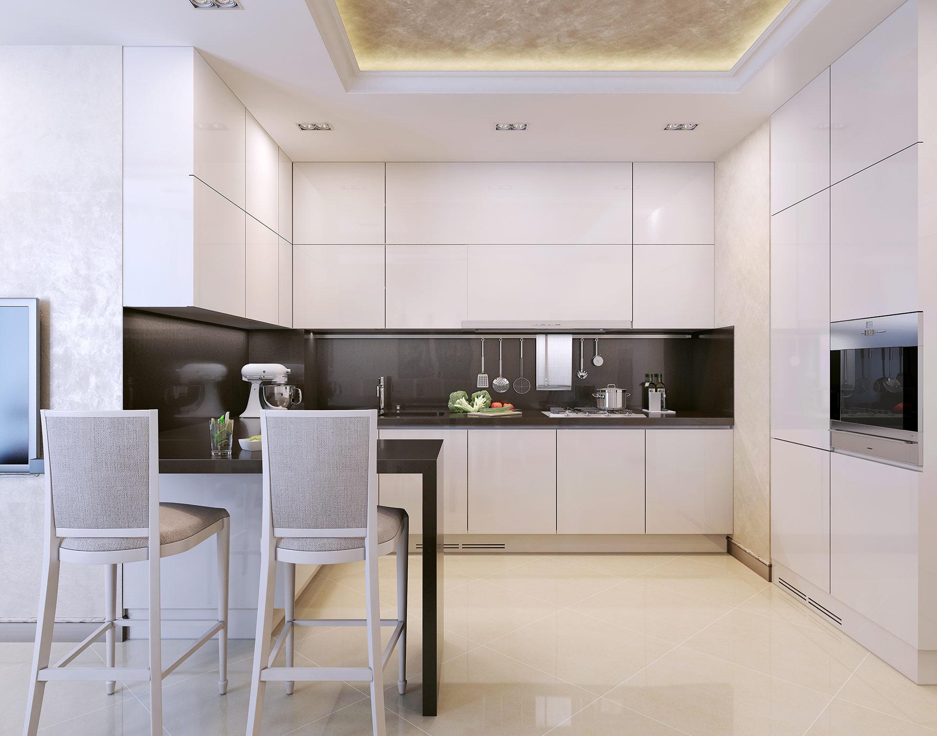kuchnia w akrylu matowym